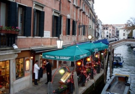 A typical Venetian canal